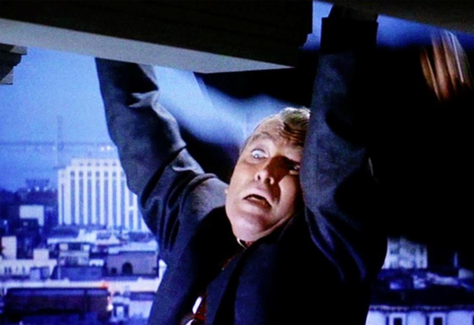 Image result for vertigo movie hanging on ledge